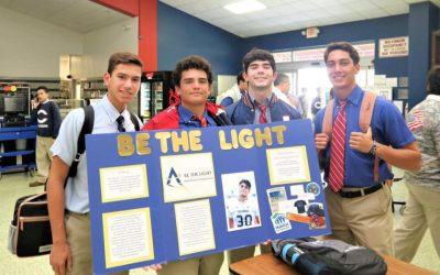 Join the BE THE LIGHT Club at your School